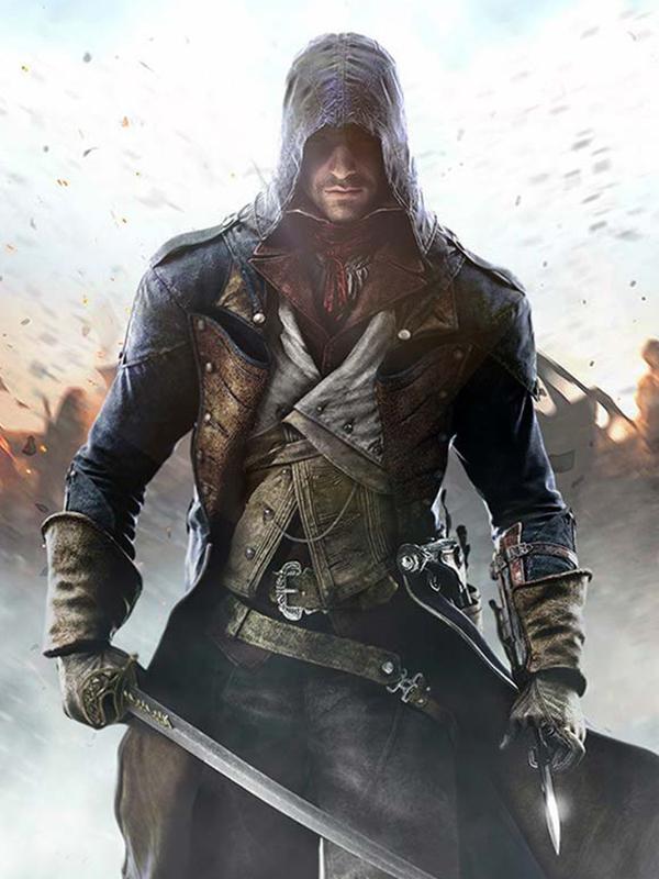 Assassins Creed Unity Arno Dorian Coat