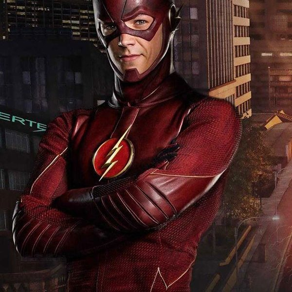 BARRY ALLEN FLASH LEATHER JACKET-0