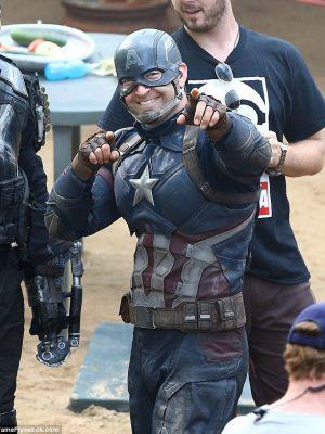 Chris Evens Steve Rogers Captain America Jacket