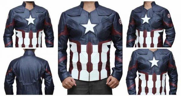 Steve Rogers Leather Jacket