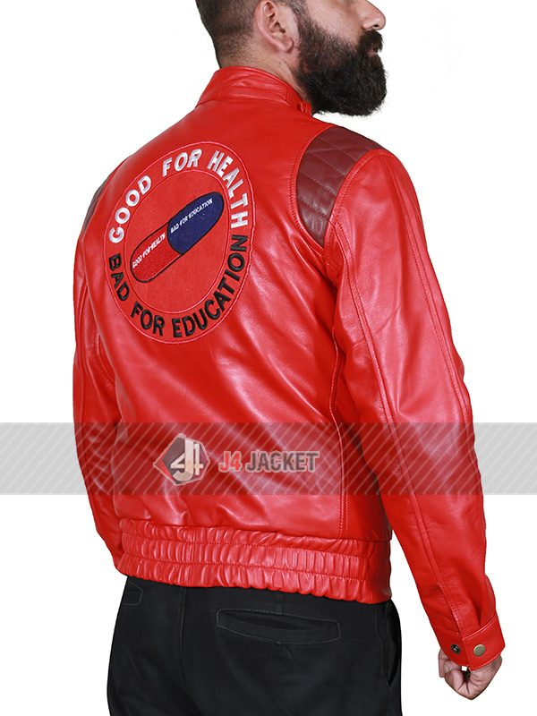 Akira Kaneda Red Leather Jacket-5317