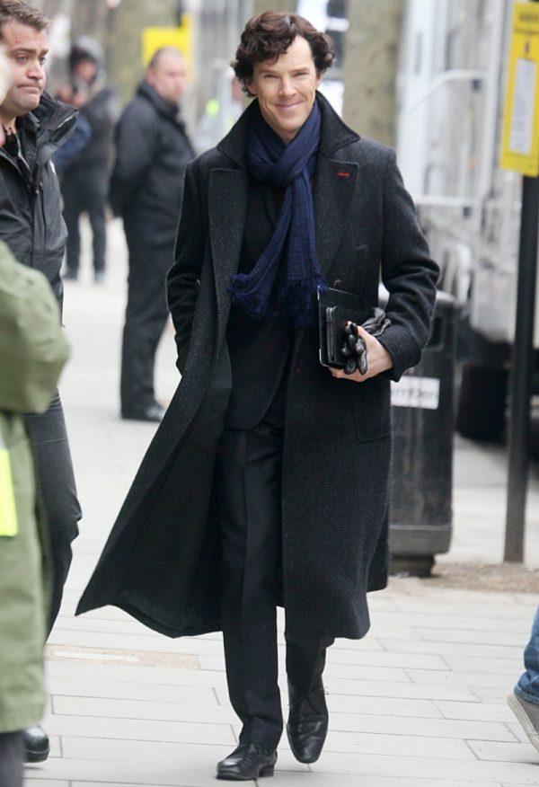 Sherlock Holmes Style Coat-0