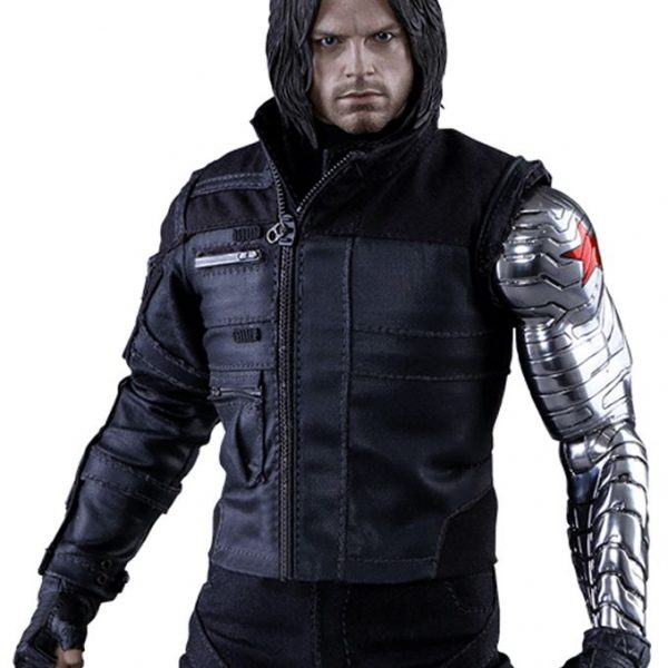 CIVIL WAR WINTER SOLDIER BUCKY BARNES JACKET-0