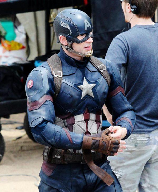 Chris Evans Captain America Civil War Jacket-0