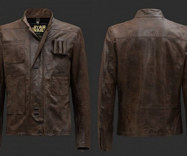 Brown Leather Han Solo Jacket From Star Wars