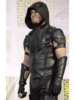 Arrow Season 4 Stephen Amell Green Vest