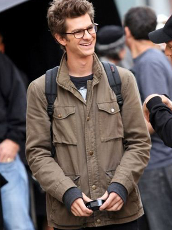 Amazing Spiderman Peter Parker Cotton Jacket For Men