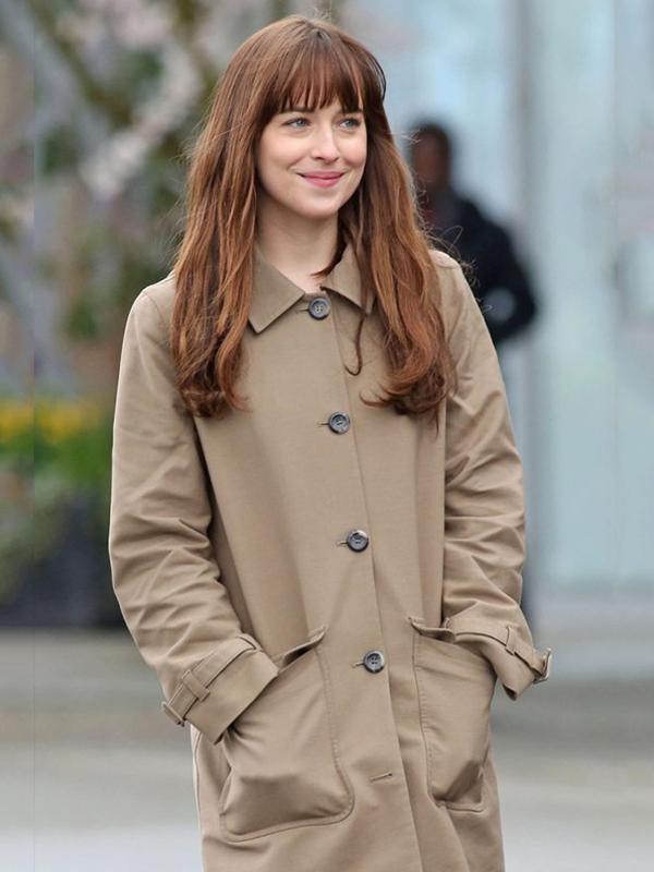 Anastasia Steele Fifty Shades Darker Coat