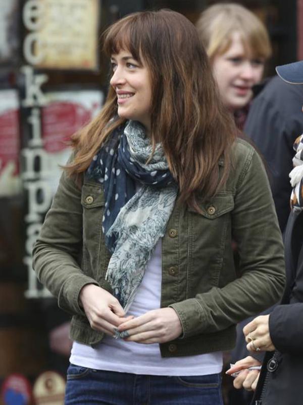 Anastasia Steele Fifty Shades of Grey Film Dakota Johnson Jacket