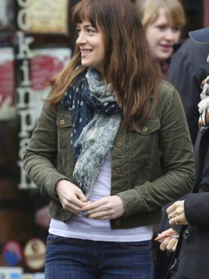 Anastasia Steele Fifty Shades of Grey Film Dakota Johnson Jacket-0