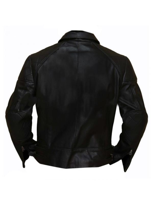 Arnold Schwarzenegger Biker Jacket