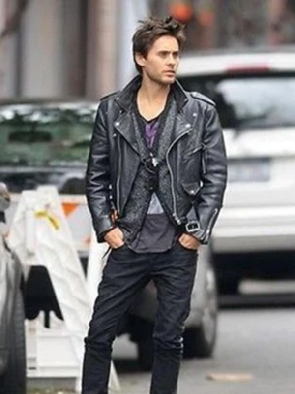 30 Seconds To Mars Jared Leto Leather Jacket