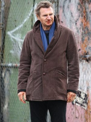 A Walk Among Liam Neeson Cotton Jacket