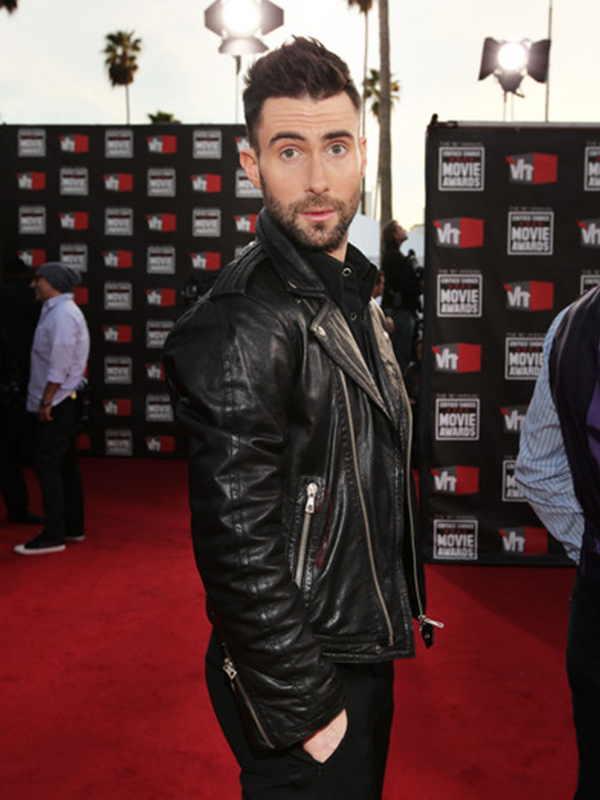 Adam Levine Leather Jacket
