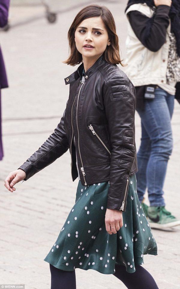 Clara Oswald Biker Jacket