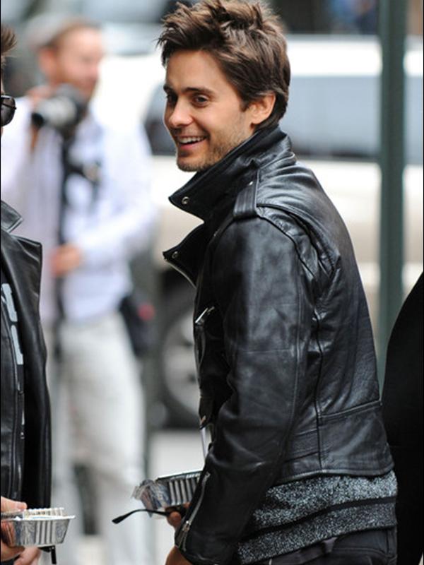 Jared Leto Black Jacket