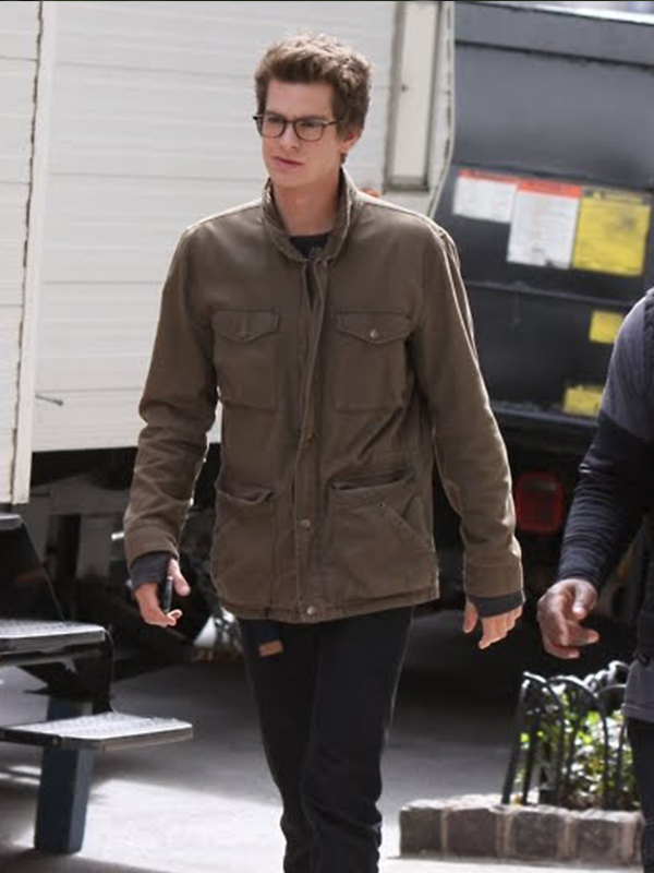 Peter Parker The Amazing Spiderman Jacket