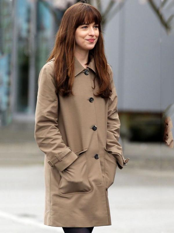 Anastasia Steele Fifty Shades of Darker Coat
