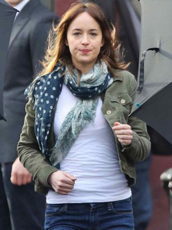 Fifty Shades of Grey Anastasia Steele Leather Jacket