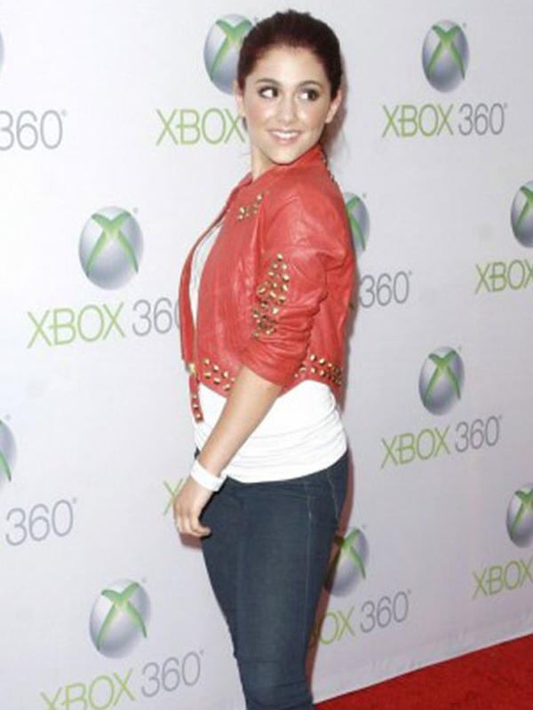 Ariana Grande Red Jacket