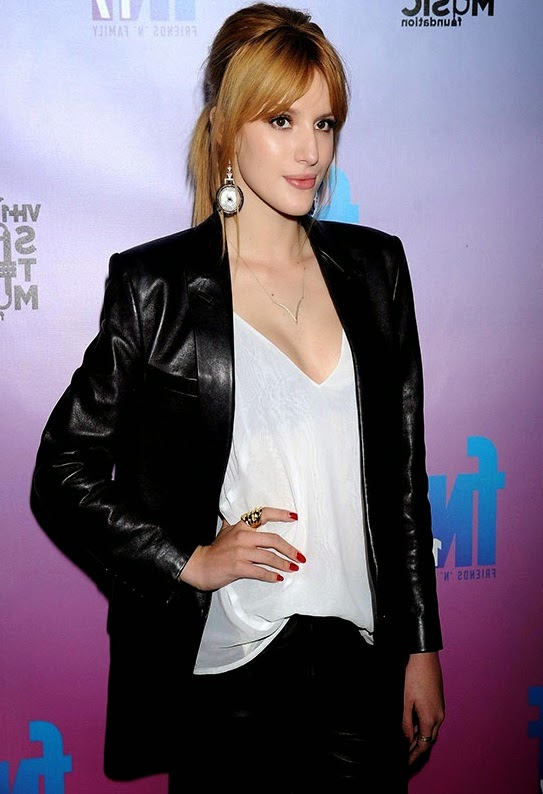 Black Bella Thorne Jacket