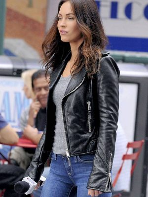 Megan Fox Teenage Mutant Ninja Turtles 2 Leather Jacket