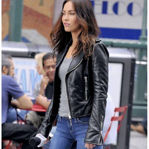 Megan Fox Teenage Mutant Ninja Turtles 2 Leather Jacket