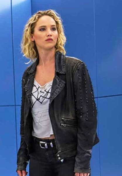 Jennifer Lawrence X Men Apocalypse Black Leather Jacket