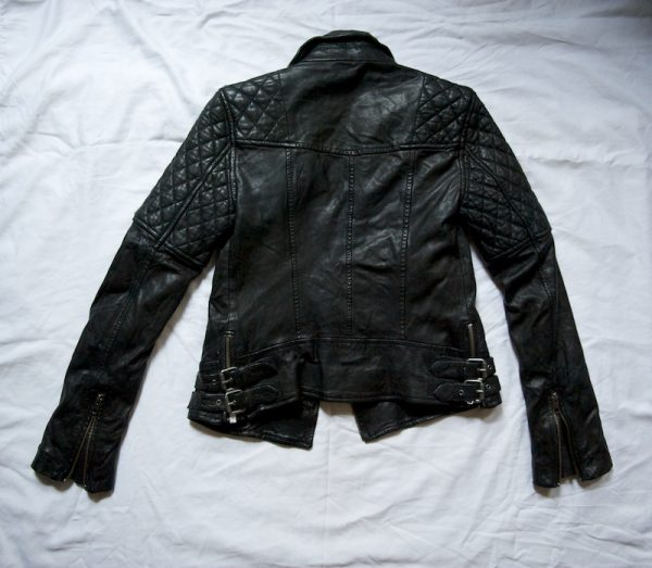 Ashley Benson Quilted Biker Jacket