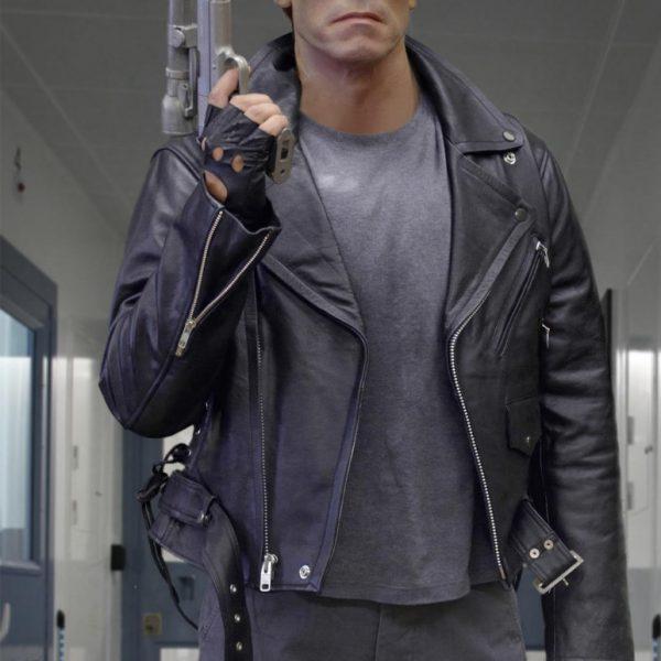 Arnold Schwarzenegger Terminator Jacket-0