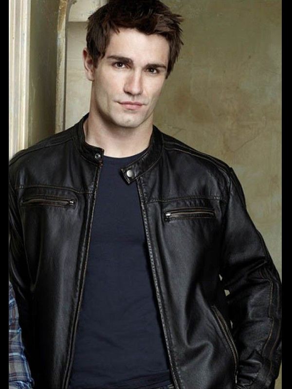 Being Human Aidan Black Leather Jacket