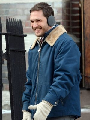 Blue Tom Hardy Cotton Jacket