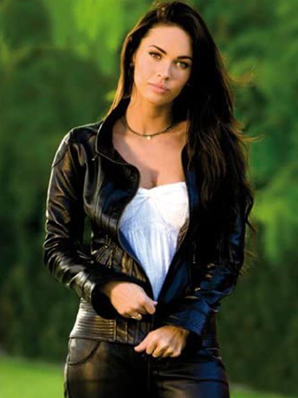 Black Biker Transformers 2 Megan Fox Jacket