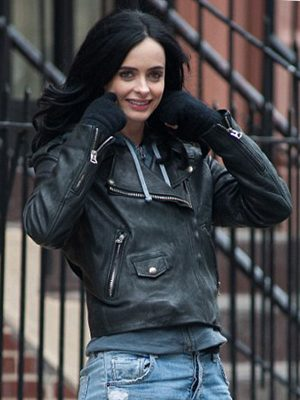 Jessica Jones Krysten Ritter Jacket-0