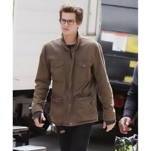 Peter Parker The Amazing Spiderman Brown Jacket