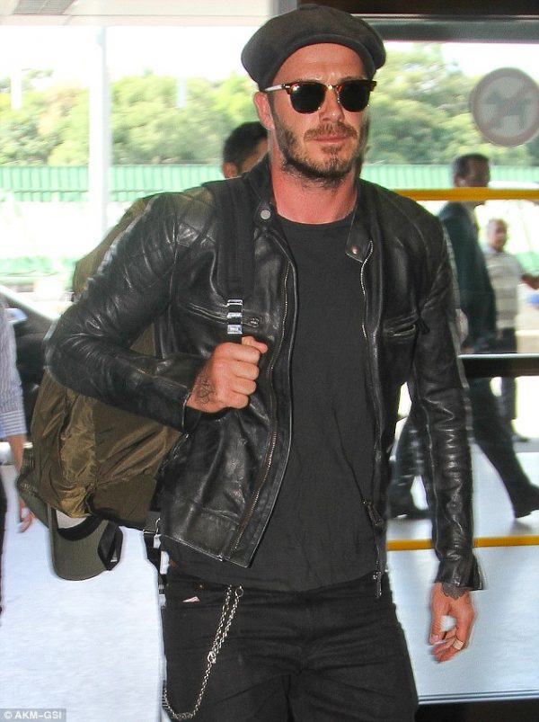 David Beckham Brazil Airport Jacket