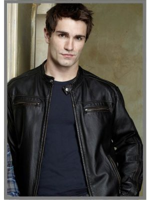 Being Human Aidan Black Leather Jacket-0