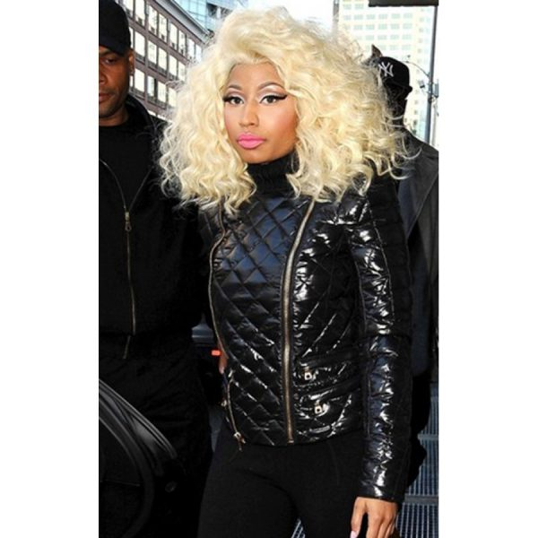 Nicki Minaj Quilted Jacket