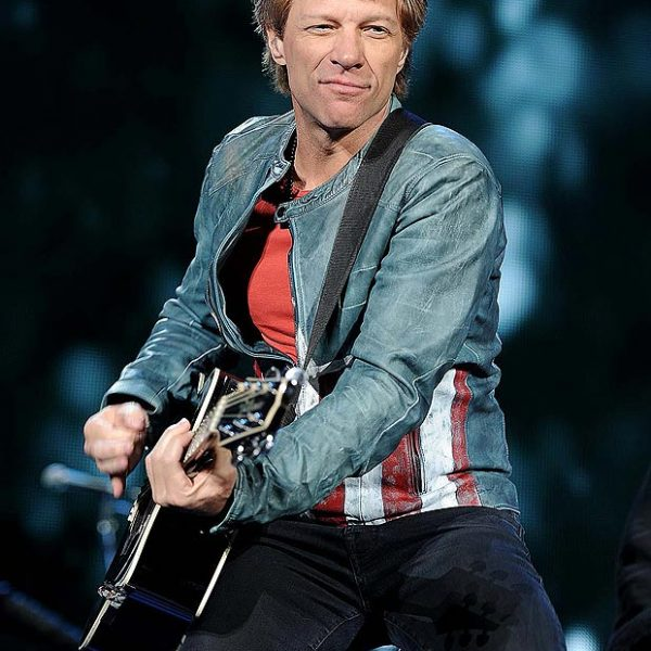 Captain America Bon Jovi Leather Jacket