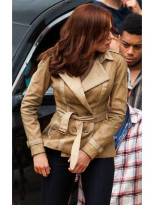 Scarlett Johansson Civil War Cotton Jacket