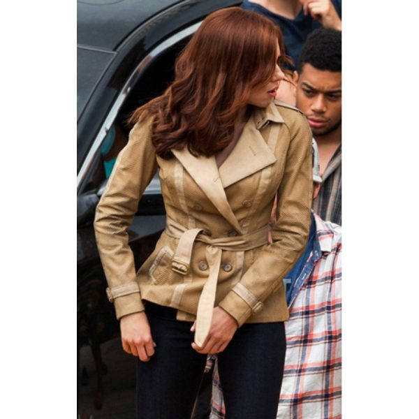 Scarlett Johansson Civil War Cotton Jacket