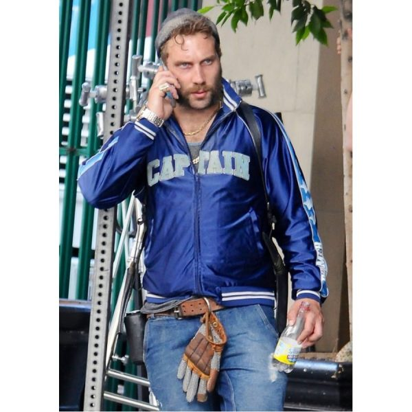 Captain Boomerang Blue Bomber Jacket-0