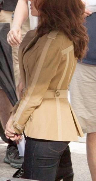 Scarlett Johansson Cotton Jacket