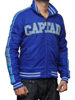 Captain Boomerang Blue Bomber Jacket