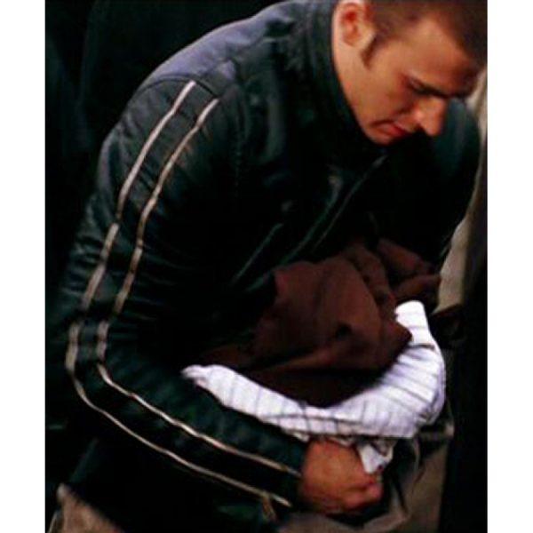 Black Chris Evans Jacket