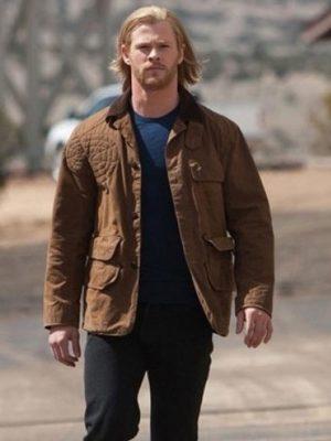 Chris Hemsworth Thor Jacket-0