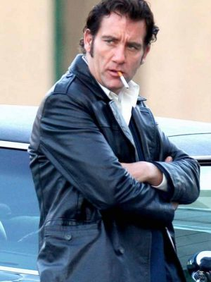 Clive Owen Black Jacket