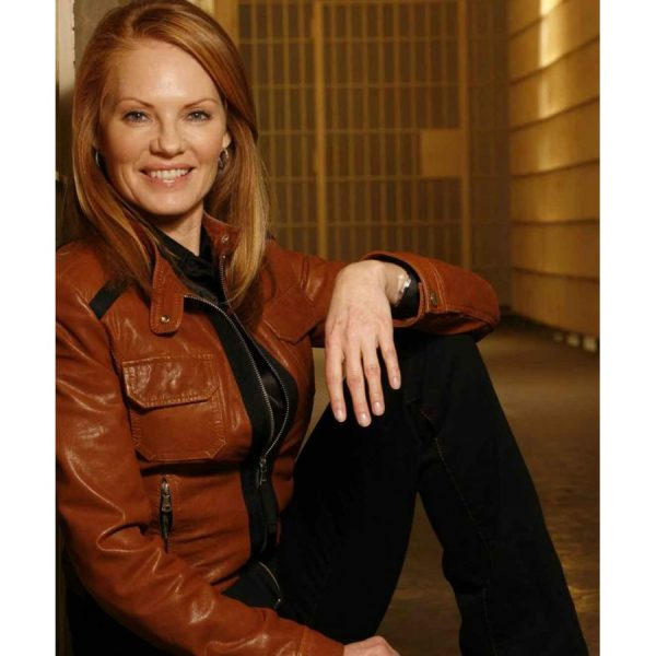 Marg Helgenberber CSI Catherine Willows Jacket-0
