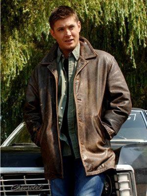 Dean Winchester Supernatural Season Leather Jacket-0