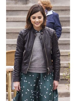 Doctor Who Clara Oswald Black Jacket